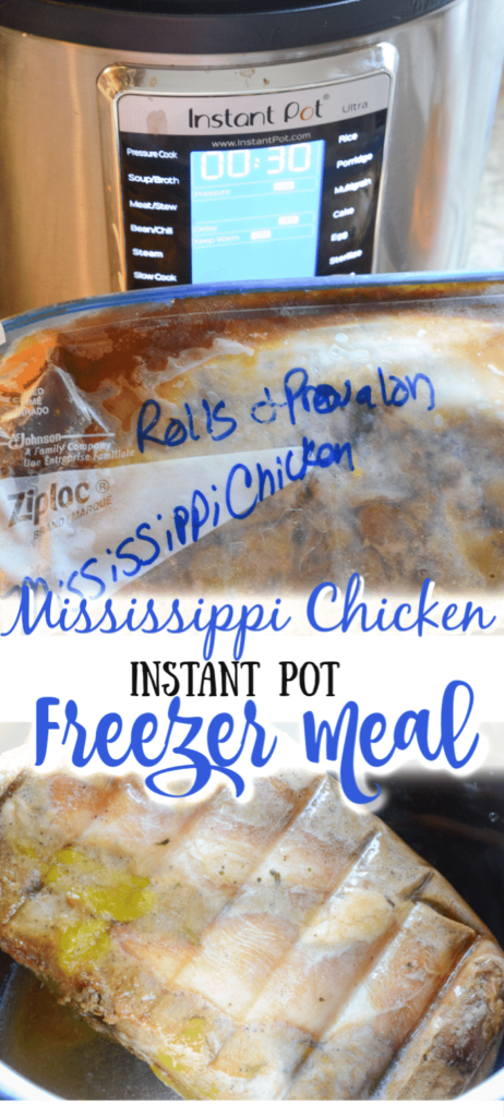 Mississippi Chicken Freezer Meal