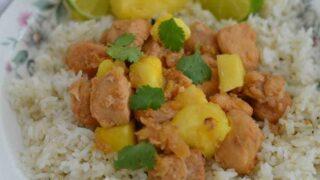 Instant Pot Pineapple Chicken