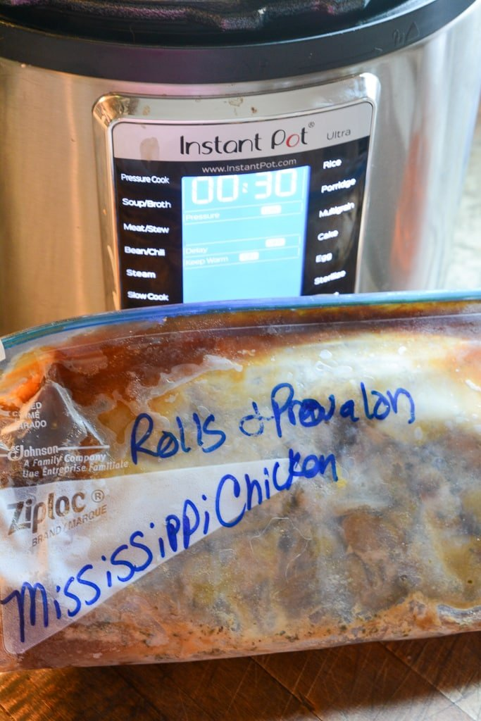 mississippi chicken instant pot freezer meal