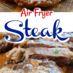 Steak in air fryer