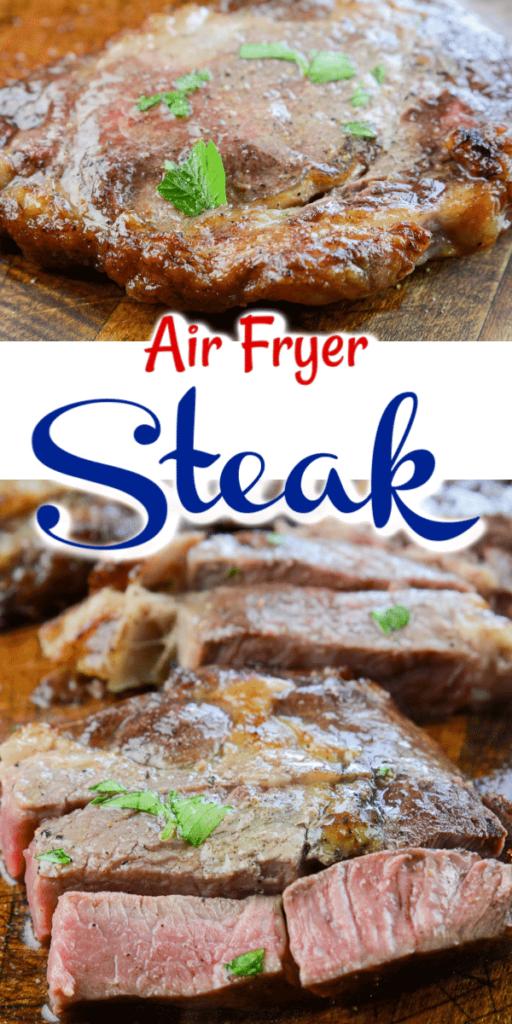 Steak in air fryer
