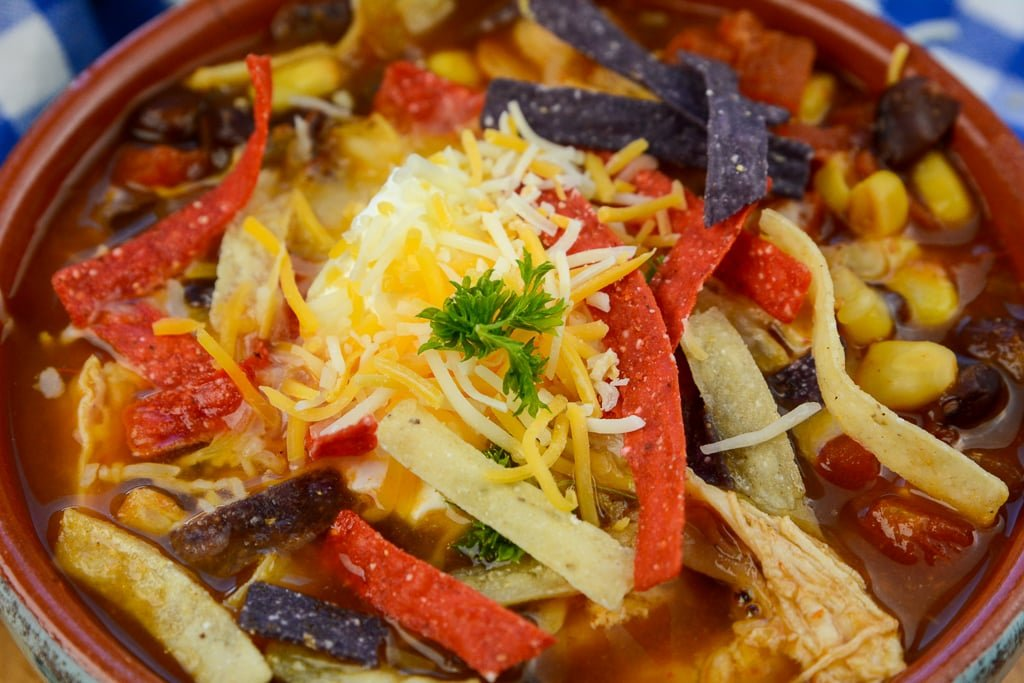 Chicken Tortilla Soup Instant Pot