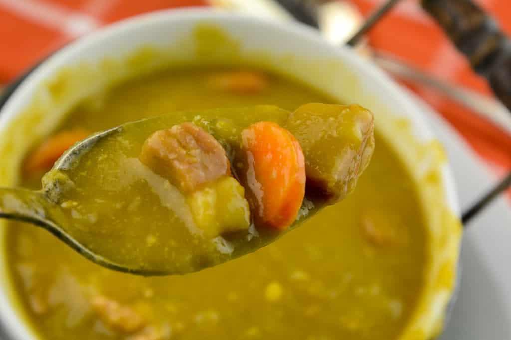 Instant Pot Split Ham and Pea Soup