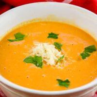 Instant Pot Creamy Tomato Soup