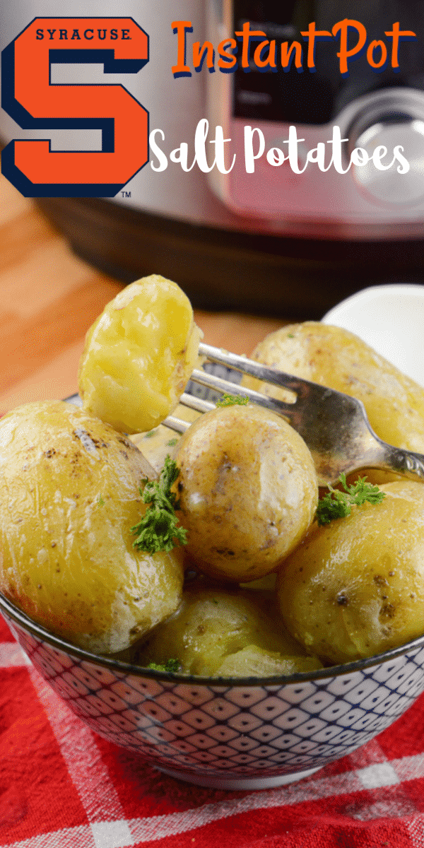 Instant Pot Syracuse Salt Potatoes
