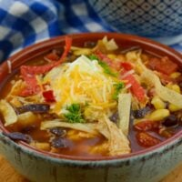 Instant Pot Chicken Tortilla Soup (Zero WW Points)