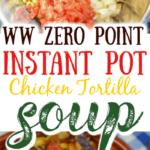 Zero Point chicken tortilla soup