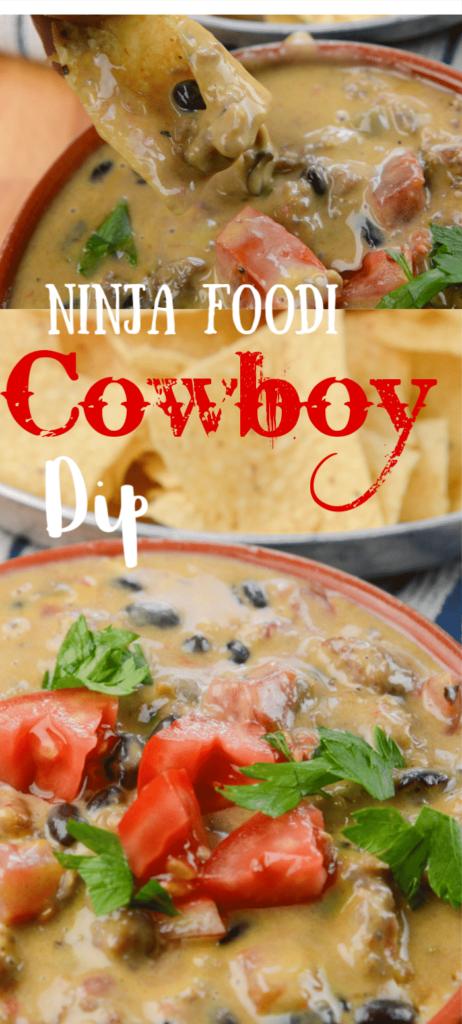 Ninja Foodi Cowboy Sausage Dip