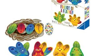 Ravensburger 60001834 Friends of a Feather Game for Boys & Girls Age 3 & Up - A Fun & Fast Family Card Game You Can Play Over & Over, Multicolor