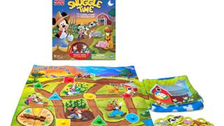 Wonder Forge Disney Snuggle Time Game for Boys & Girls Age 3 & Up - The Cuddly Game of Cooperation