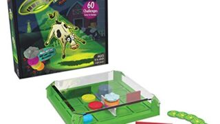 Think Fun Invasion of The Cow Snatchers STEM Toy and Logic Game for Boys and Girls Age 6 and Up - A Magnet Maze Logic Puzzle