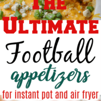 The ultimate football appetizers and snacks