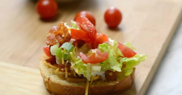BLT Dip Recipe | Bacon, Lettuce, Tomato Dip With Video