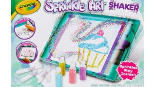 Crayola Sprinkle Art Shaker, Rainbow Arts & Crafts for Girls, Gift, Age 5, 6, 7, 8
