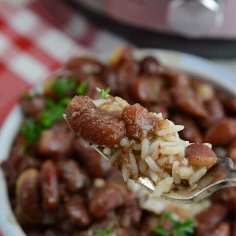 Instant Pot Popeye's Copy Cat Red Beans and Rice