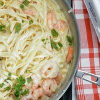 World's Best Shrimp Fettuccine Alfredo