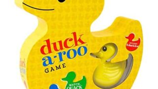 Duck-A-Roo! Kids Memory Game in A Duck-Shaped Box