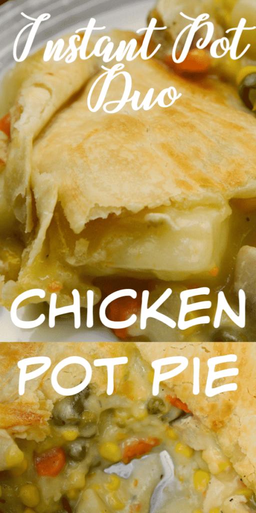 Chicken Pot Pie Instant Pot Duo