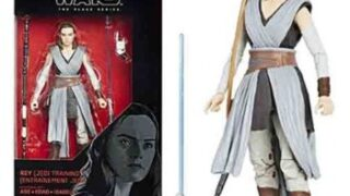 Rey Jedi Training Star Wars Action Figure - Black Series