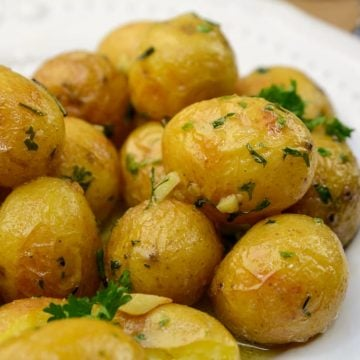 Instant Pot Duo Roasted Garlic Potatoes
