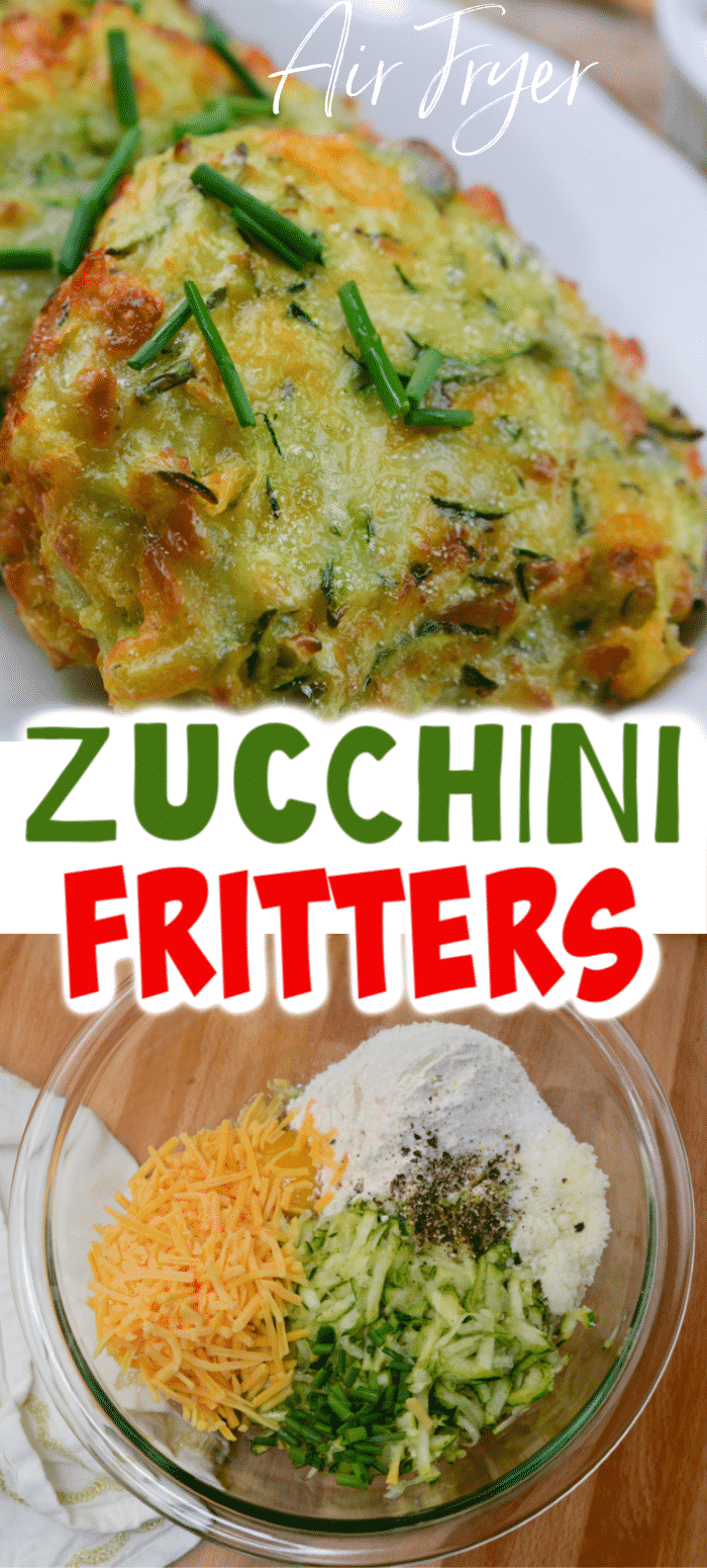 The Best Air Fryer Zucchini Fritters
