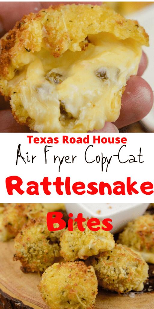 Air fryer Copy Cat Texas Road House Rattlesnake Bites