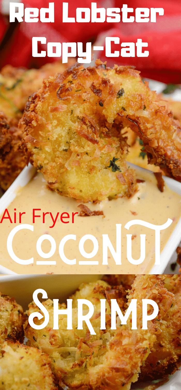 Air Fryer Red Lobster Copy Cat Coconut Shrimp