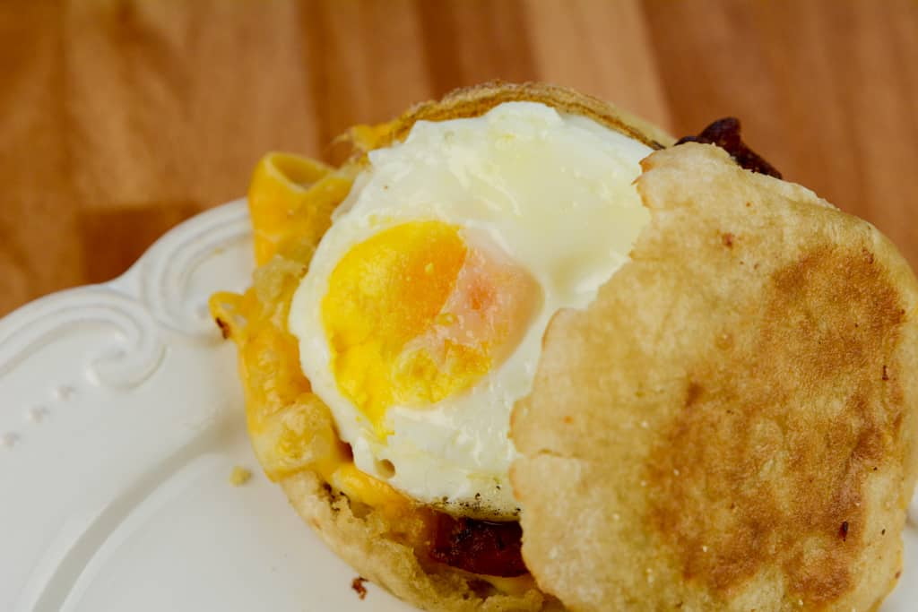 The Best Air Fryer McDonald's Copy Cat Egg McMuffin