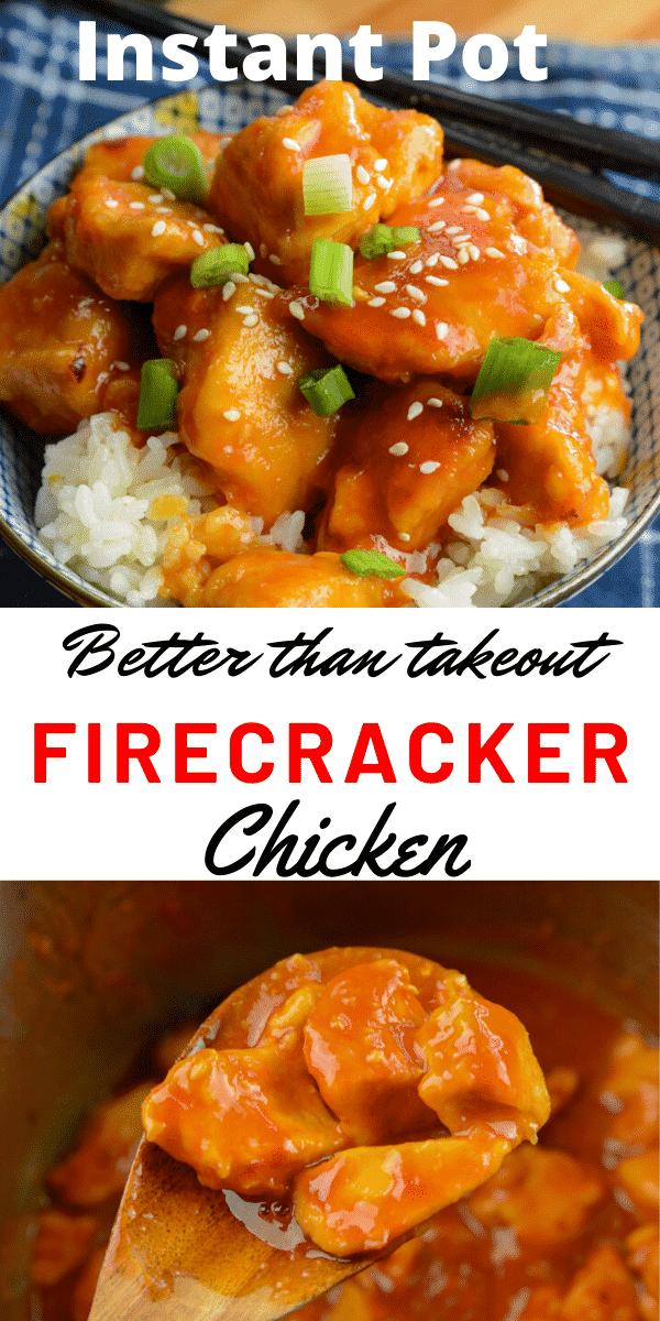 Better than Take Out Instant Pot Firecracker Chicken