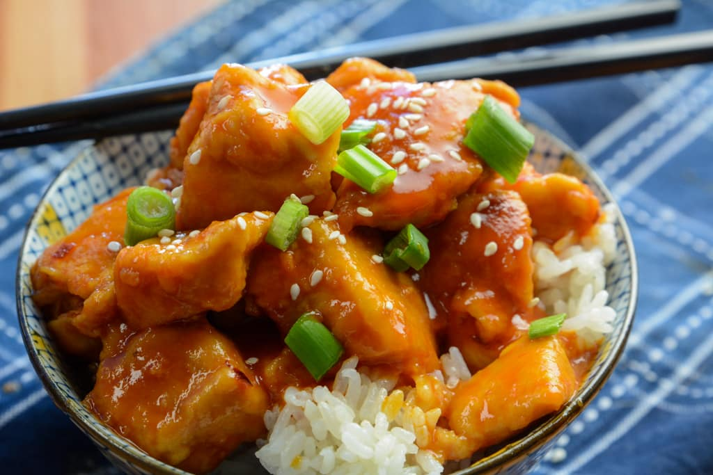 Better than Take Out Instant Pot Firecracker Chicken