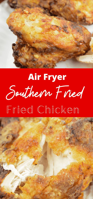 fried chicken in air fryer