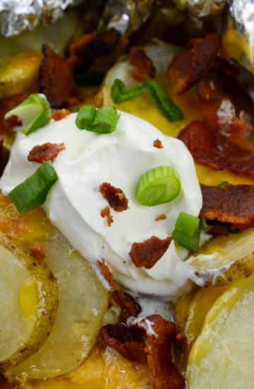 Campfire loaded Potatoes instant Pot Duo Crisp
