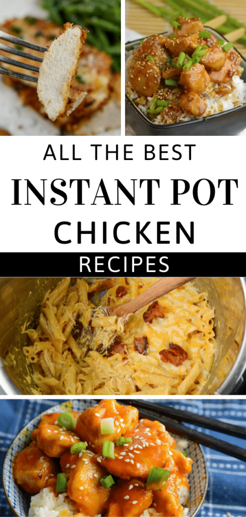 Instant Pot Chicken Recipes