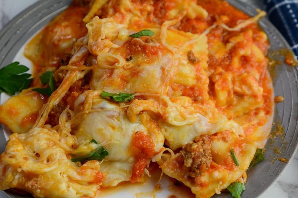 Instant Pot Ravioli Lasagna
