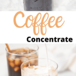 instant pot coffee concentrate