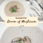 Instant Pot Cream of Mushroom Soup