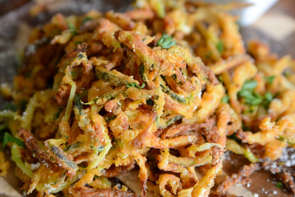 Zucchini Curly Fries