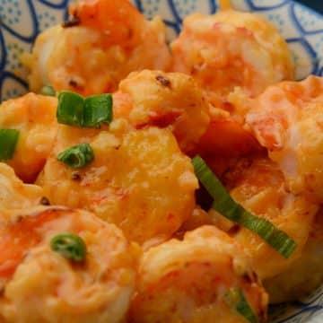 Air Fryer Bang Bang Shrimp