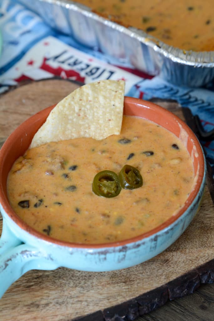 The Word's Best Campfire Queso