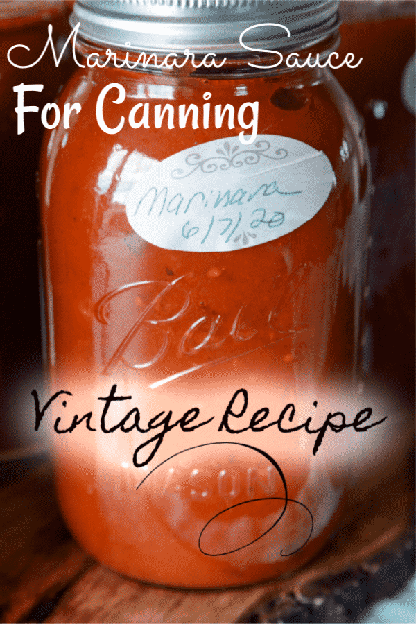 How to make Marinara Sauce for Canning