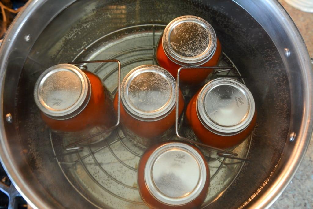 Marinara Sauce Canning