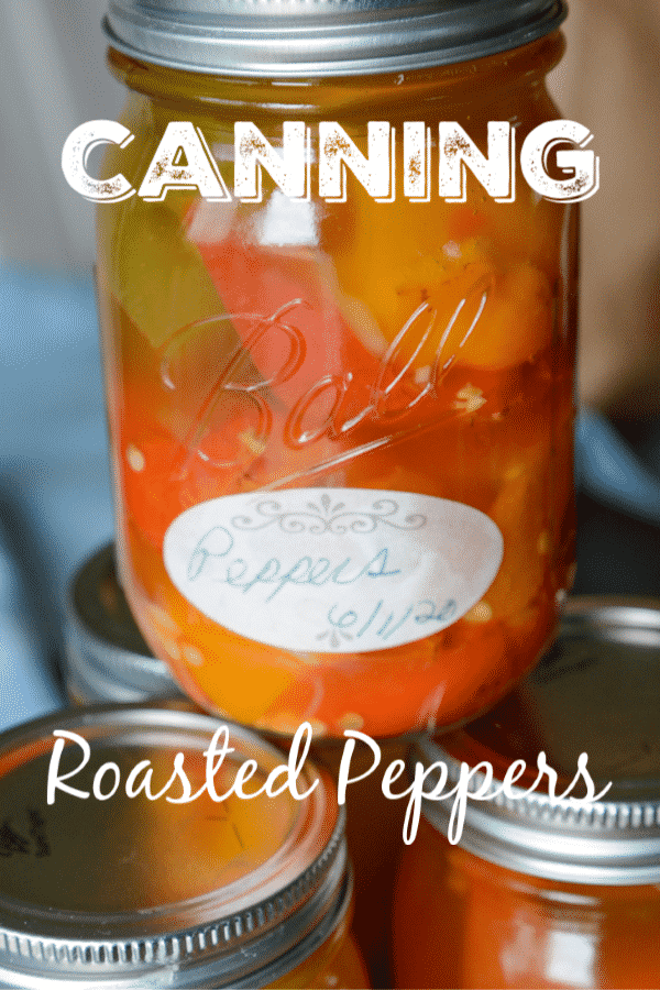 How to make Roasted Peppers for Canning