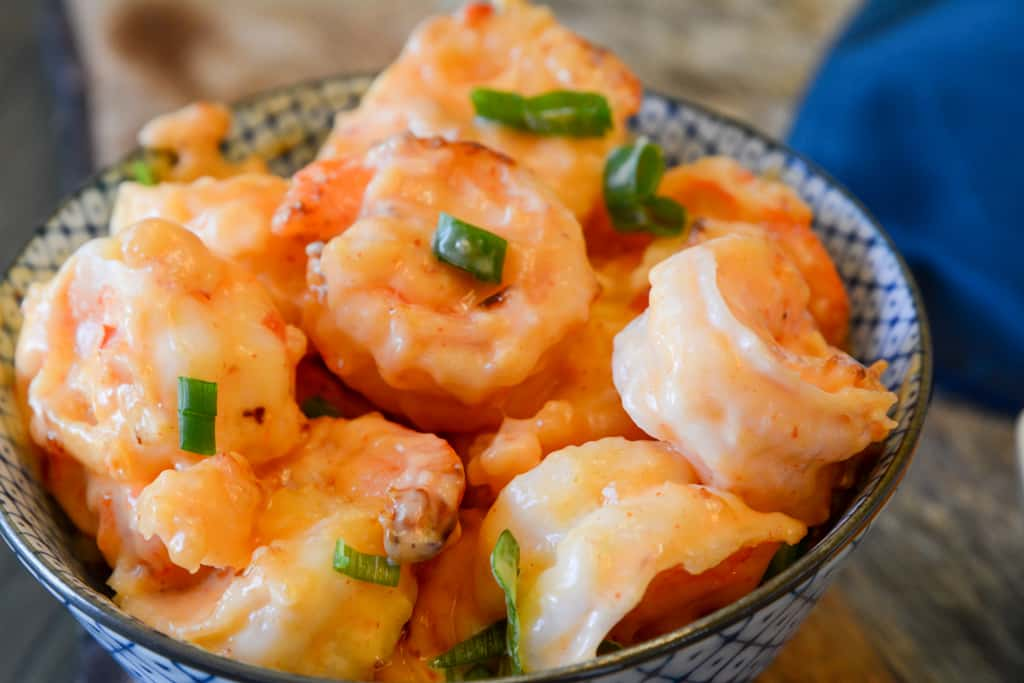 Air Fryer Bang bang shrimp