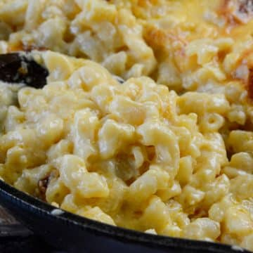 World's Best Cast Iron Macaroni and Cheese