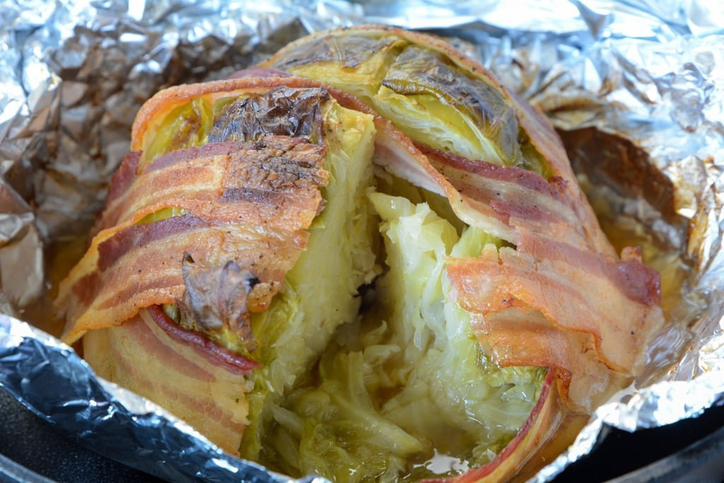 The Best Fire Grilled Cabbage