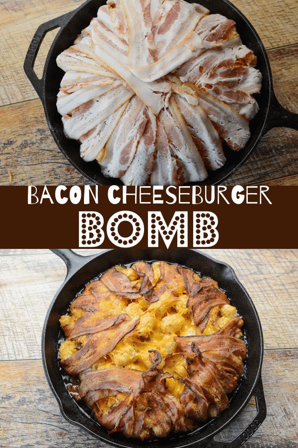 Bacon Cheeseburger Bomb