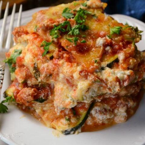 The Best Zucchini Lasagna