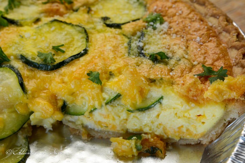 Zucchini-Quiche-in-pan