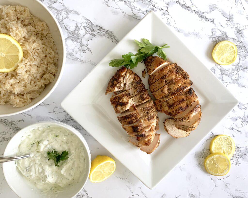Ninja Grill Greek Chicken