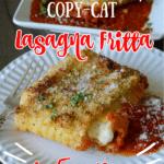 Olive Garden Copy Cat Lasagna Fritta Air Fryer